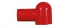 DURITE <br>RED RUBBER ANGLED TERMINAL COVER   <br>ALT/0-003-85<br>(EACH )